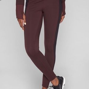 Athleta fleece leggings